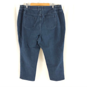 Catherines Jeans - Right Fit Catherines Womens Jeans Capri Crop 20WP